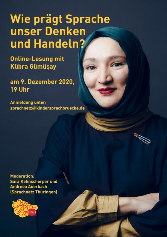 Online-Lesung mit Kübra Gümüsay_Flyer